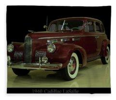 1940 Cadillac Lasalle Fleece Blanket