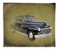 1946 Dodge D24c Sedan Fleece Blanket