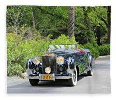 1947 Inskip Rolls Royce Fleece Blanket