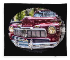1948 Mercury Convertible Fleece Blanket
