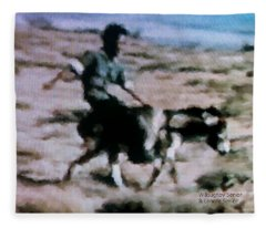 1950's - Having A Blast Fleece Blanket