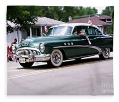 1953 Buick Special Fleece Blanket