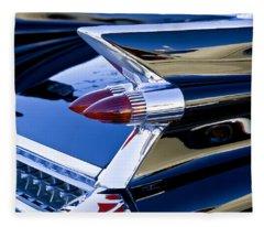 1959 Cadillac Coupe Deville  Fleece Blanket