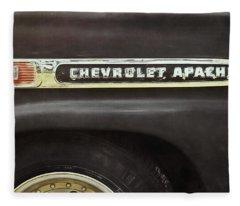 1959 Chevy Apache Fleece Blanket