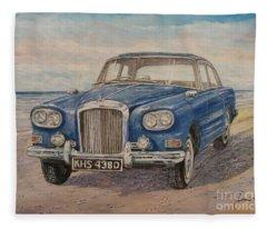 1963 Bentley Continental S3 Coupe Fleece Blanket