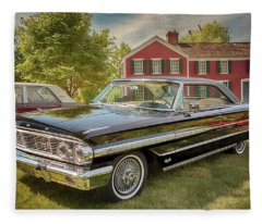 1964 Ford Galaxie 500 Xl Fleece Blanket