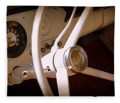 1966 Ford F100 Interior Fleece Blanket