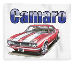 1967 Camaro Fleece Blanket