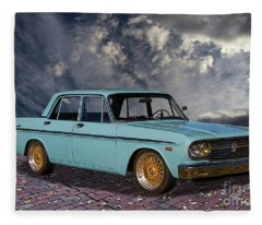 1967 Toyota Crown Deluxe 3 Fleece Blanket