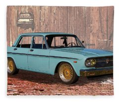 1967 Toyota Crown Deluxe Fleece Blanket