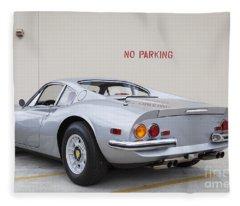 1972 Ferrari Dino 246 Gt Fleece Blanket