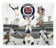 1984 Detroit Tigers Fleece Blanket