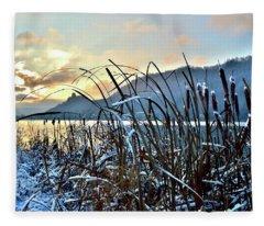 1st Snowfall Fleece Blanket