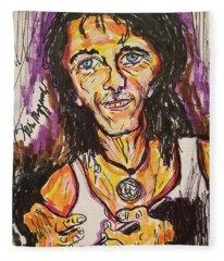 Alice Cooper Fleece Blanket