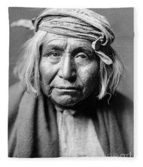 Apache Man, C1906 Fleece Blanket