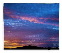 Beautiful Sky Fleece Blanket