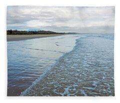 Binh Hai Beach, Quang Ngai Fleece Blanket