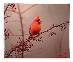 Bold Beauty Fleece Blanket