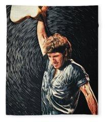 Bruce Springsteen Fleece Blanket