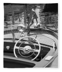 1950's Sportsman Fleece Blanket