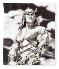 Conan The Barbarian Fleece Blanket