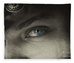 Cowboy Jim Fleece Blanket