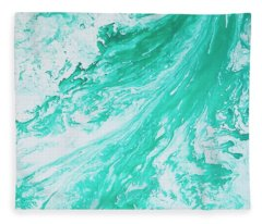Crystal Wave 5 Fleece Blanket