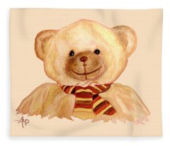 Cuddly Bear Fleece Blanket