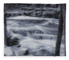 Devils River #1 Fleece Blanket