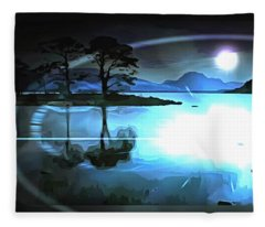 Dimensionless Fleece Blanket