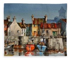 Dingle Harbour, Kerry Fleece Blanket