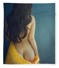 Female Body Fleece Blanket