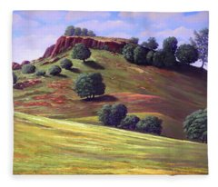 Flowering Meadow Fleece Blanket