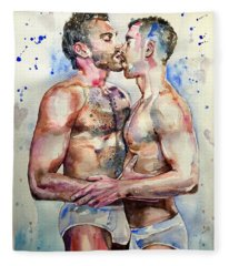 Gay Love Fleece Blanket