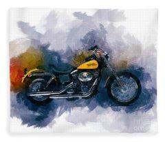Harley Davidson Fleece Blanket