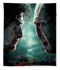 Harry Potter And The Deathly Hallows Part II 2011  Fleece Blanket