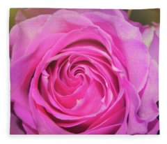 Hot Pink Fleece Blanket