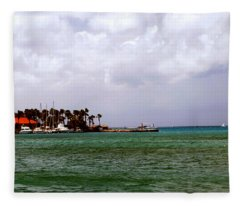 Island Harbor Fleece Blanket