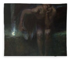 Lucifer Fleece Blanket
