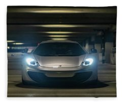 Mclaren Mp4-12c Fleece Blanket