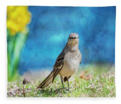 Mockingbird Fleece Blanket