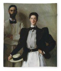 Mr. And Mrs. I. N. Phelps Stokes Fleece Blanket