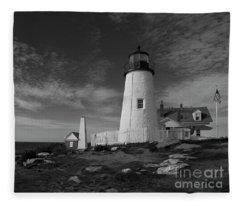 Pemaquid Lighthouse Fleece Blanket