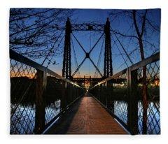 2 Penny Bridge Fleece Blanket
