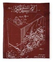 Patent Illustration Fleece Blankets