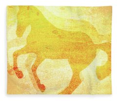 Pirouette Splattered Fleece Blanket