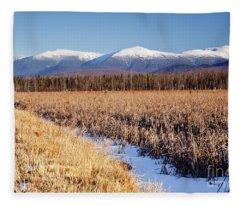 Pondicherry Wildlife Refuge - Jefferson New Hampshire Fleece Blanket