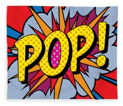Pop Art - 4 Fleece Blanket