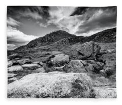 Snowdonia Wales Journey Of Mountains Fleece Blanket