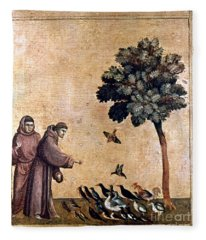 St. Francis Of Assisi Fleece Blanket